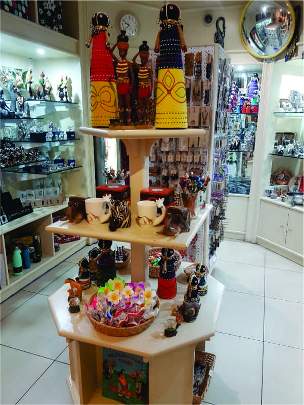 Interior of the Cabanas Collection shop